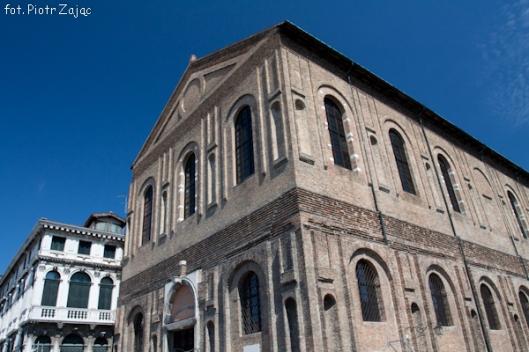 La Scuola nuova della Misericordia in Venice, Italy