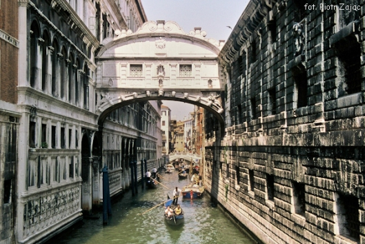 The Bridge of Sighs in Venice