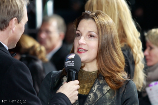 "Producer Barbara Broccoli attends "" Skyfall "" premiere in Berlin"
