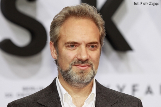 "Film director Sam Mendes attends "" Skyfall "" premiere in Berlin"