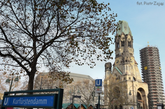 Kaiser Wilhelm Church in Berlin