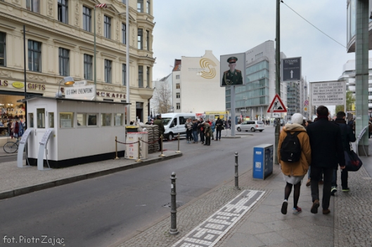 "Checkpoint Charlie in Berlin - filming location of "" Octopussy """