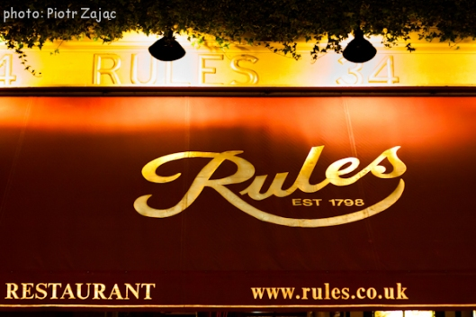 Rules restaurant in London