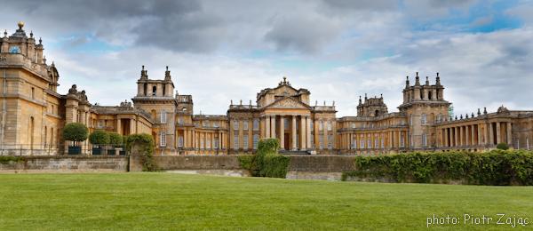 Blenheim palace bond