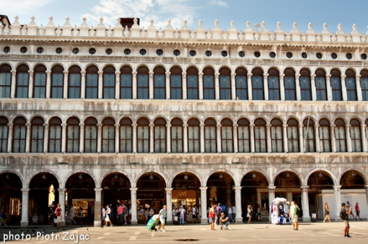 Saint Mark's Square in Venice, Italy