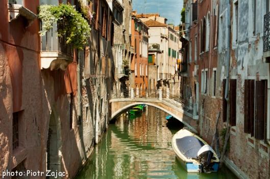 Ponte del Malpaga in Venice, Italy
