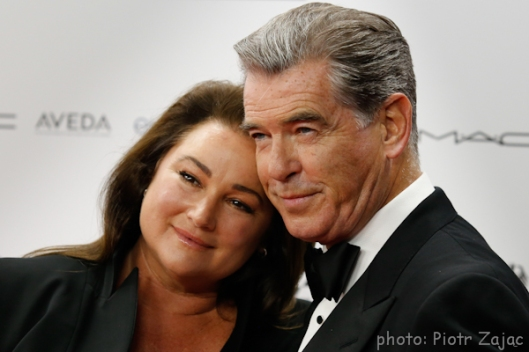 Pierce Brosnan and his wife Keely Shaye Smith during 29th European Film Awards Ceremony in Wroclaw, Poland