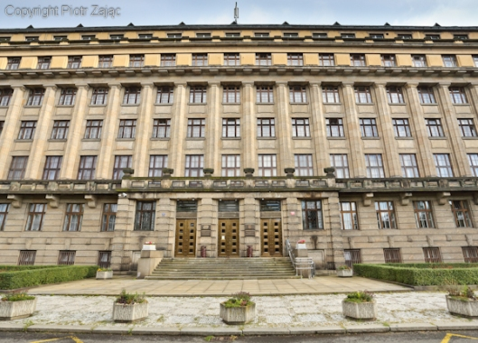 The Ministry of Transport of the Czech Republic in Prague
