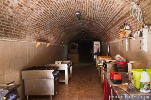 Tunnel at Piazzetta Della Paglietta in Siena, Italy