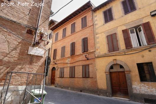 Via Salicotto in Siena, Italy