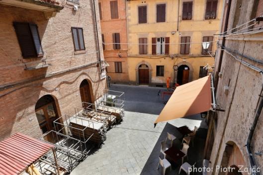 Piazzetta Della Paglietta in Siena, Italy
