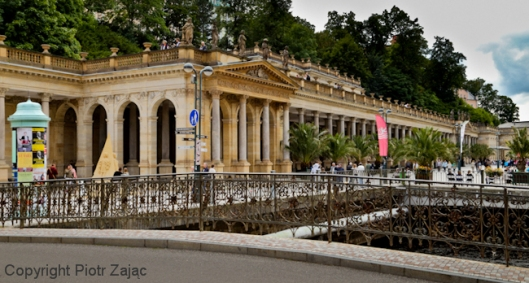 Mill Colonnade in Karlovy Vary, Czech Republic