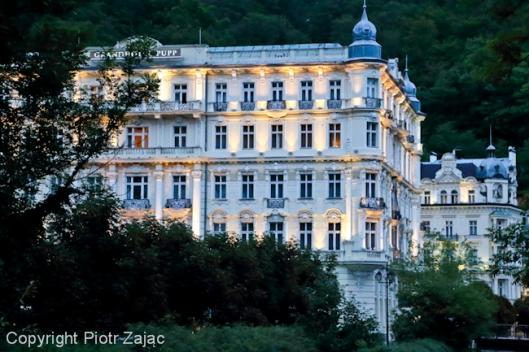 Grandhotel Pupp in Karlovy Vary, Czech Republic