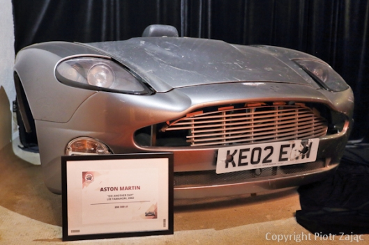Front of Aston Martin V12 Vanquish from 'Die Another Day'