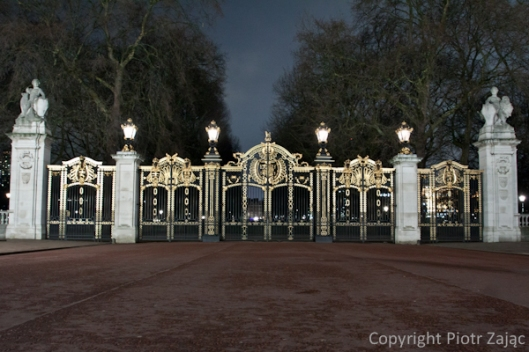 Canada Gate at Buckingham Palace, London