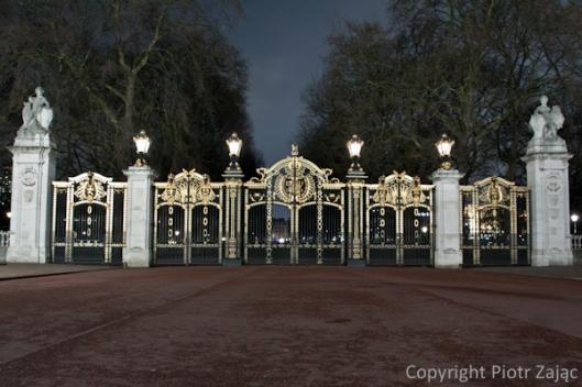 Canada Gate at Buckingham Palace, London
