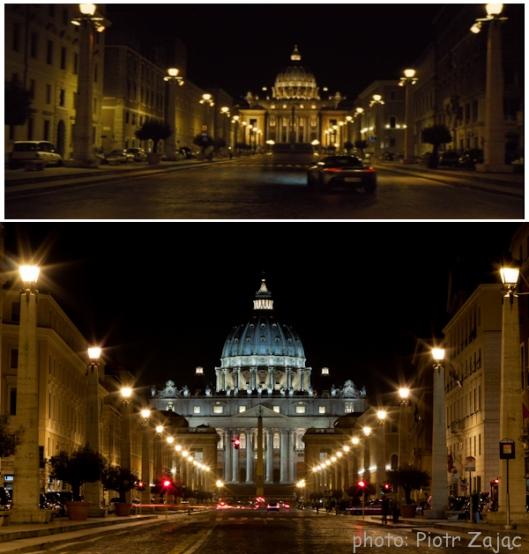 Via della Conciliazione in Rome, Italy