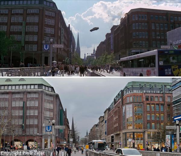 Monckebergstrasse in Hamburg, Germany