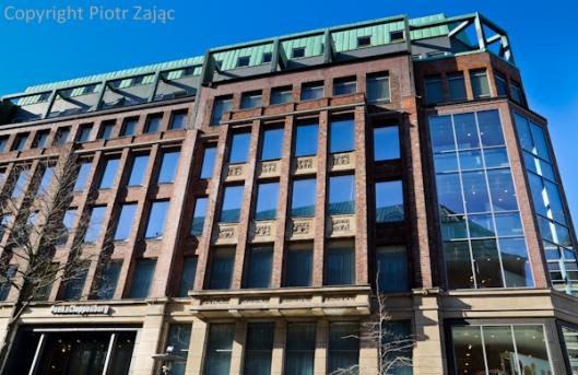 Monckebergstrasse street in Hamburg, Germany