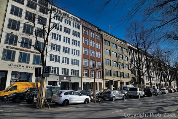 Ballindam street in Hamburg, Germany