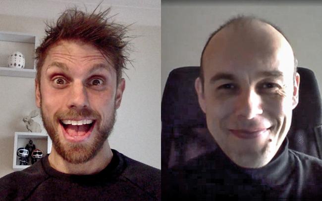 Andy Lister and Piotr Zajac