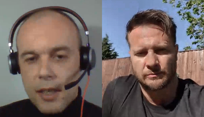 Piotr Zajac and Bobby Hanton