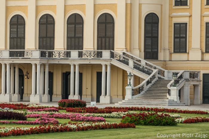 Schönbrunn Palace in Wien, Austria