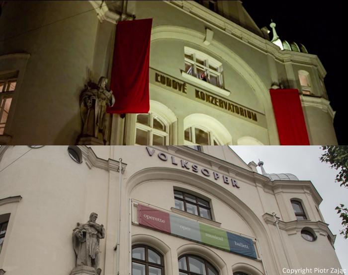 Volksoper in Vienna, Austria.