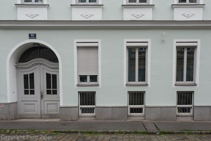 Antonigasse in Vienna, Austria