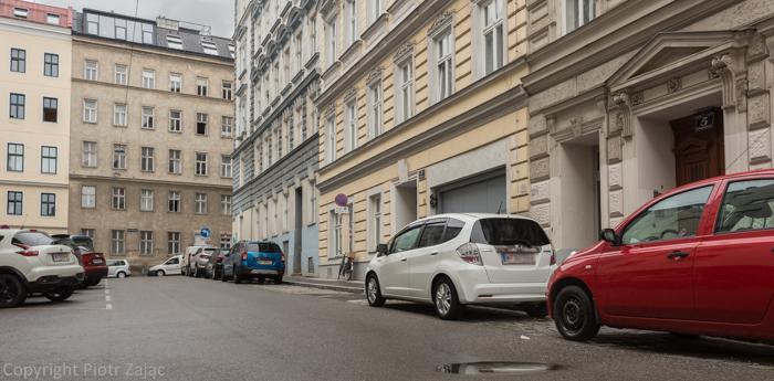 Schlagergasse in Vienna, Austria