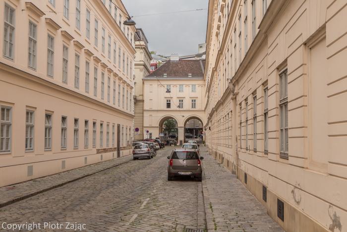 Traungasse in Vienna, Austria