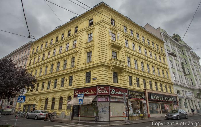 Währinger Strasse in Vienna, Austria